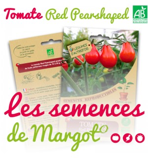 Tomate Red Pearshaped