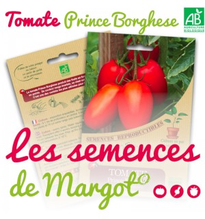 TOMATE PRINCE BORGHESE BIOLOGIQUE