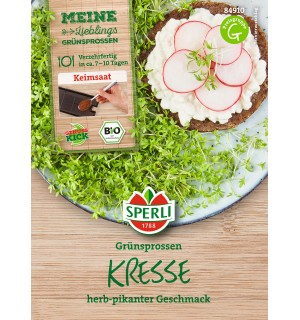 Graines de germes de Cresson pour set « kit de culture » 57gr.