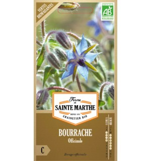 BOURRACHE OFFICINALE BIO - VERTUS BIENFAISANTES